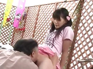 Father Fucks Lady in Counterfeit of her Mother Yui Kasugano