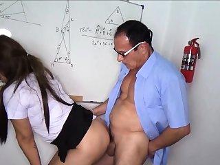 Thai student fucks their way cram in class