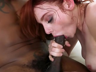 Blacklist stallion fucks red-haired nympho's pussy the way she wants