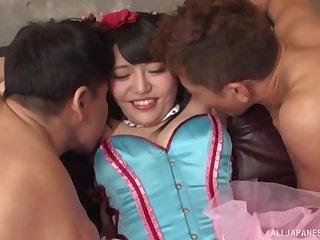 One stiff dick isn't enough to please Tsukino Serina anymore