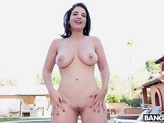 Busty Latina Pounded By BBC