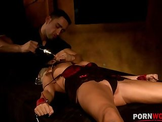 Hardcore BDSM snag a grasp at of Winni leads to must-see spanking & fucking GP1198