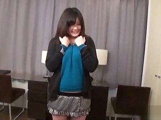 JAV body check travesty with curvy amateur Subtitled