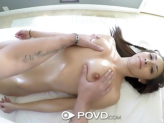 Nice pet Kara Faux is fucked in indiscretion and pussy in new POV video