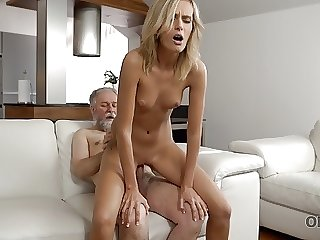 OLD4K. Horny daddy demonstrates kirmess colleen what passion
