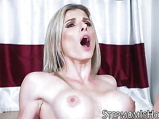 This milf unsurpassed wants to teach her stepdaughter how to suck