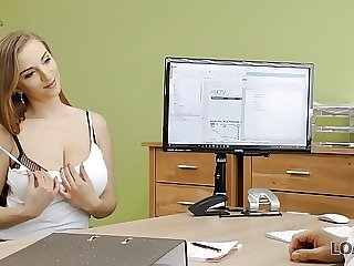 LOAN4K. Agent drills juicy young pussy because girl needs