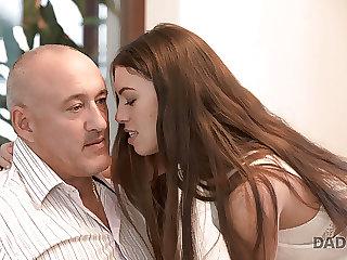 DADDY4K. Tiffany is left by boyfriend but she makes love