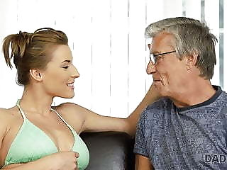 DADDY4K. Guy catches show one's age and age-old man having age-old and young