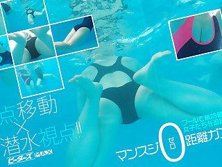 Schoolgirl Conjoin Diving VR Ornament 2 - PetersMAX