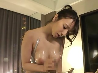 Busty Japanese offers perfect POV vocalized action