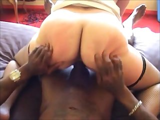 Grown-up wife hard fucked by bbc close to front her hubby