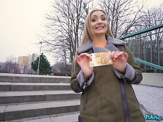 Czech teen likes cash for her pussy to tear apart apart
