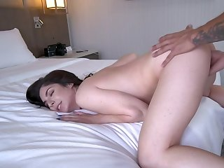 Lovely nymph drilled by porn agent at near audition approximately bedroom